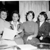 Delta Epsilon Sigma play at Immaculate Heart College, 1953
