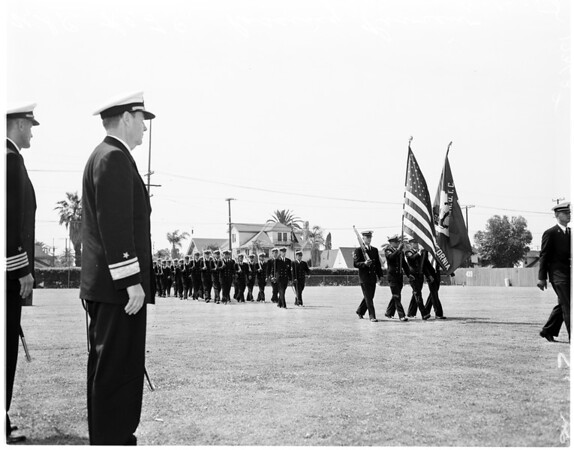 University of Southern California Navy ROTC, 1958