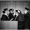 Honorary degree for Agness Underwood, 1958