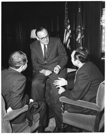Governor Brown conference, 1960