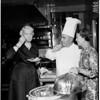Continental dinner at Jonathan Club, 1958