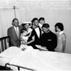 Wedding at Glendale Memorial Hospital, 1958