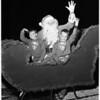 Santa Monica Christmas Parade, 1956