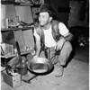 Gold prospector, 1958
