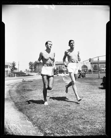 Track -- Compton relays -- Advance negatives, 1958
