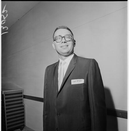 Southern California Democratic Chairman Election, 1961