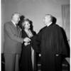 Actor Reginald Owen marries, 1956