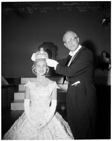 Rose Queen Coronation, 1958