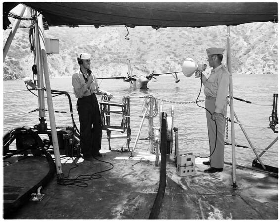 Seaplane operation, 1958