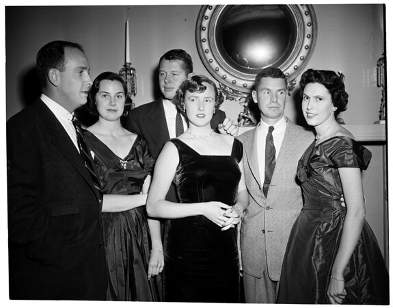 Sunset Republican Club Party, 1953