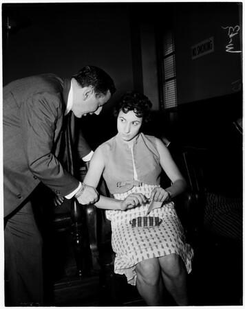 Child murder preliminary, 1959