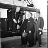 Heliport dedication, 1952