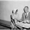 Segura divorce hearing, 1959