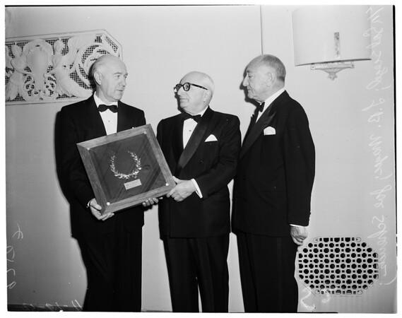 Award to Louis B. Mayer (Biltmore), 1952