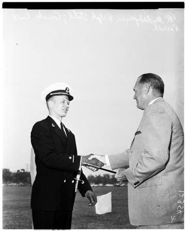 University of California Los Angeles Armed forces awards (Reserve Officers Training Corps), 1958