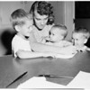 Kindergarten registration (Reseda Elementary School), 1952
