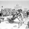Muscle Beach summer school, 1957