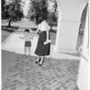 Kindergarten registration (Reseda Elementary School), 1952