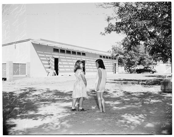 New schools in San Fernando Valley, 1952
