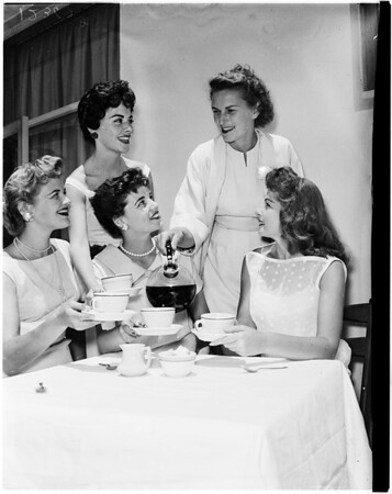 La Ballona ex-queens (Culver City), 1958