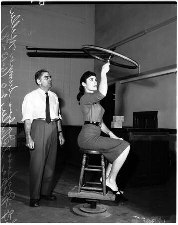 Physics professor at University of California Los Angeles, 1958, 1958