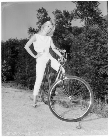 Yvette Mimieux -- Pictorial living, MGM actress, 1960