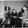 CBS Television City ribbon cutting, 1952