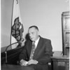 Commission hearing on discharge of zookeeper, 1957