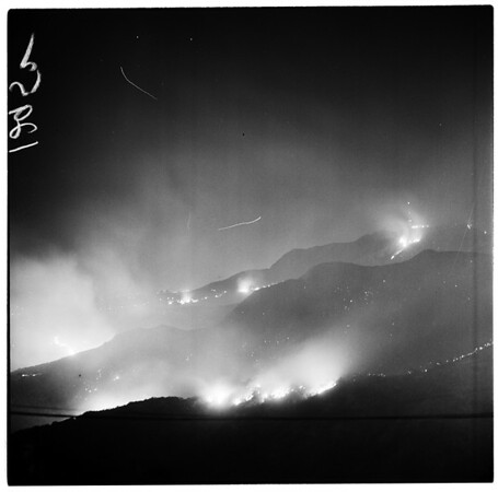 Hollywood Hills fire, 1961