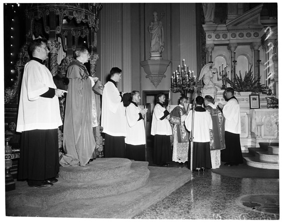 Labor Day Mass (Breakfast), 1952