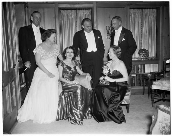 Assembly cocktail party, 1952