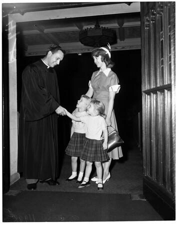 Thanksgiving (Hollywood Methodist Church), 1956