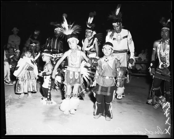 Indian pow-wow in Anaheim, 1958