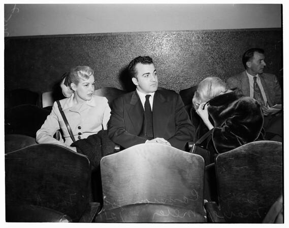Radziwill jewel burglary (preliminary hearing), 1952