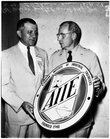 American Institute of Industrial Engineers, 1958