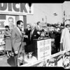 Nixon tour-Santa Monica-Panorama City and stops between, 1961