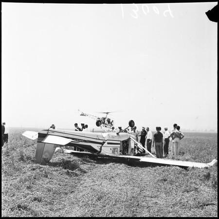 Plane crash (Sepulveda Basin), 1961
