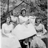 Wisteria Festival Queen and Princesses, 1959