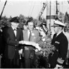 "New ship ""Columbia"" dedication at Disneyland, 1958"