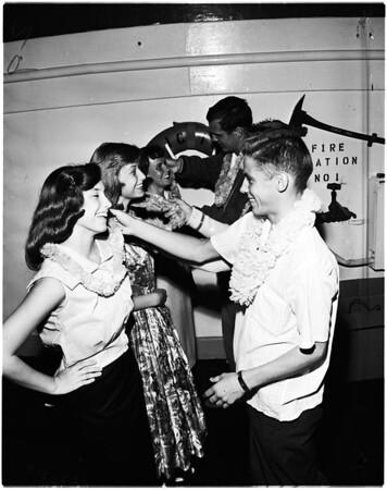 Long Beach graduation, 1958