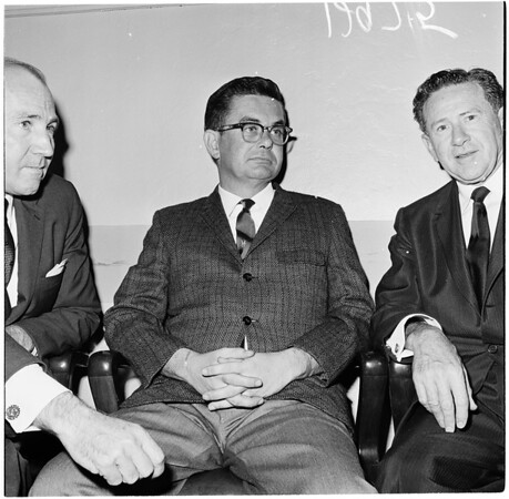 Murder arraignment, 1961