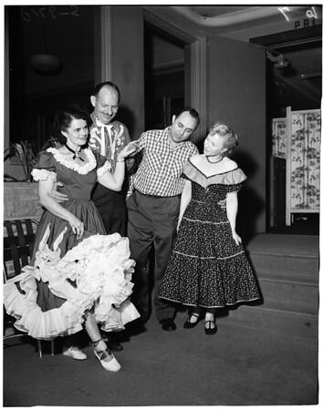 Mr. & Mrs. Samuel J. Crawford, Junior, 1953