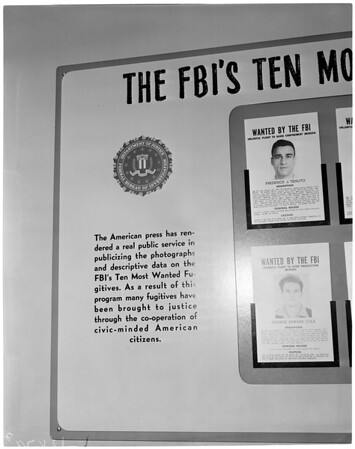 F.B.I. Series in Examiner Denton), 1958