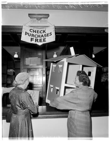 Boys Republic -- Pasadena Auxiliary Rummage Sale, 1957