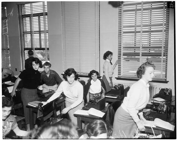 Hamilton High School Alert, 1952