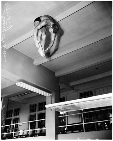 Swimming -- Los Angeles Athletic Club, 1958