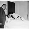 Bandit slain (Harold Lee Lewis-23 years) robbery suspect, 1952