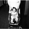 Wheelchair bought with donations from Examiner readers, 1958
