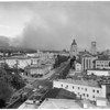 Fire in Pasadena Hills, 1961