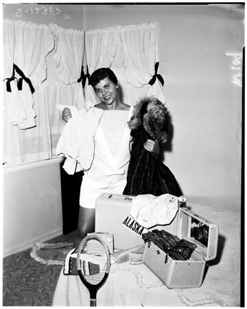 Mary Davis, 1958